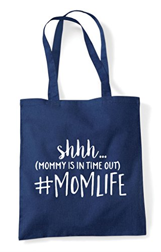 Ssh Momlife Mommy Tote Time Navy Statement Is Bag Out Shopper Hashtag In rrYqOw86