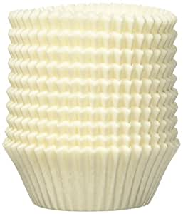 Kaiser 769257 patisserie moldes de papel para magdalenas 200 unidades 7 cm color blanco - Moldes papel magdalenas ...