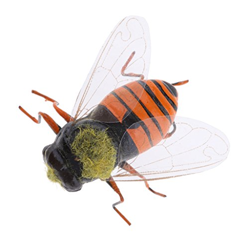 Realistic Insect Animal Pot Hanger Fridge Magnet Garden Decor - Bee