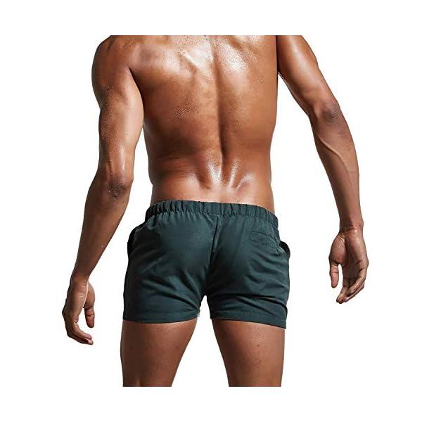 Lachi Costume Uomo Mare Asciugatura Rapida Costume da Bagno Pantaloncini Sportivi con Coulisse Taschino Serf Nuoto… 6 spesavip