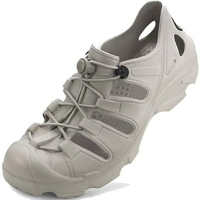New Aqua Summer Sports Grey Casual Mens Water Shoes Sandals (8)