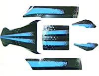 Redcat Racing Complete Mirage Body Kit, Blue