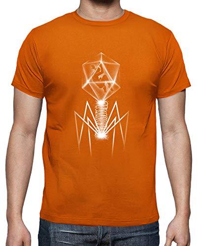 T Arancione shirt Uomo Tostadora Batteriofago T1q6wff