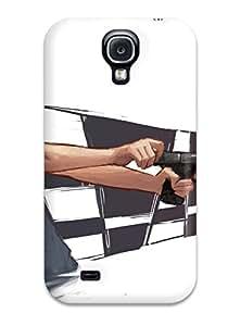 Kishan O. Patel's Shop 8032807K26881885 Awesome Human Flip Case With Fashion Design For Galaxy S4