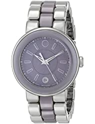 Movado Womens 0606553 Cerena Stainless Steel Watch