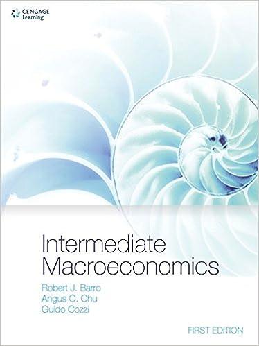 Intermediate Macroeconomics Robert J Barro 9781473725096