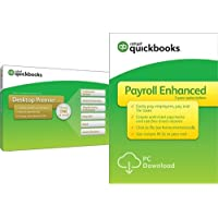 QuickBooks Desktop Premier 2018 [PC Disc] with Enhanced Payroll