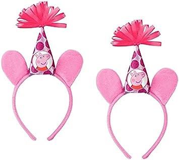 Amazon.com: Peppa Pig Accesorio de lujo diadema de ...