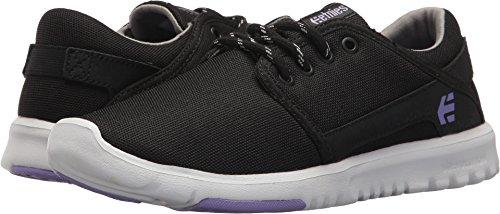 Etnies Womens Women's Scout W's Skate Shoe, Black/Purple, 8.5 Medium US by Etnies