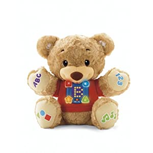 Fisher-Price Learn and Sing Teddy - 41iRTMU3HWL - Fisher-Price Learn and Sing Teddy