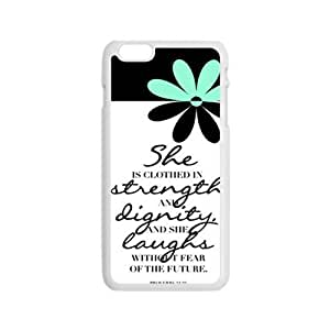 Happy quotes strength Phone Case for Iphone 6