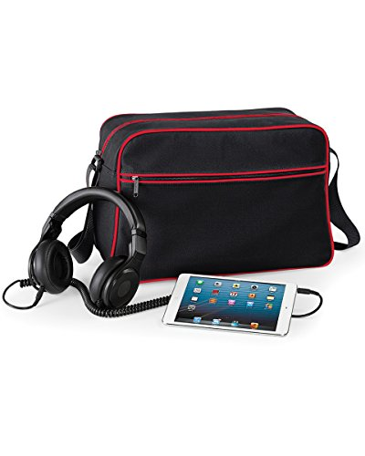 Black Black hombro negro Red Red Classic al mujer BagBase Bolso Classic para S nWYHAv6q
