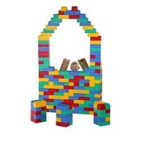 Bloques jumbo de 192 piezas: juego jumbo (hecho en EE. UU.)