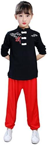 子供の武道の衣装男の子太極拳衣類カンフー衣装衣類訓練スーツスポーツウェアカジュアルウェア