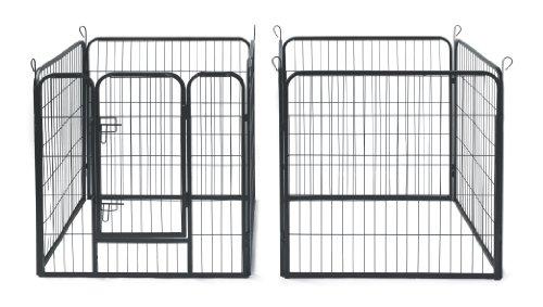 Allmax Metal Pet Fence Black Buy Online In Uae Pet
