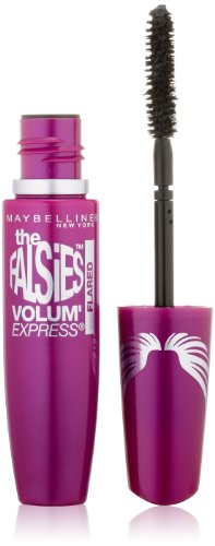 Maybelline New York Volum' Express The Falsies Flared Washable Mascara, Blackest Black, 0.31 fl. oz.
