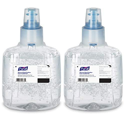 PURELL Advanced Green Certified Hand Sanitizer Gel, 1200 mL Sanitizer Refill for PURELL LTX Touch-Free Dispenser (Pack…