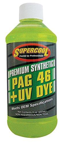 TSI Supercool P46-8D PAG 46-Viscosity Plus U/V Dye Oil - 8 oz