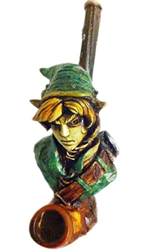 (JCUNIVERSAL® - Handmade Tobacco Pipe, The Legend of Zelda on Link Design)