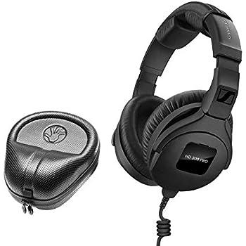 de4dd338a61 Sennheiser HD 300 Pro Collapsible High-End Monitoring Headphone + SLAPPA  SL-HP-