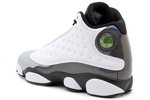 f5e00a9456dc Nike Air Jordan 13 Retro BG Black White Wolf Grey Tropical Teal 414574-115  (SIZE  4.5Y)