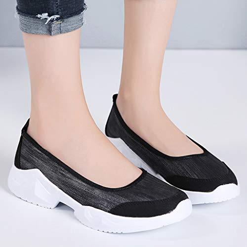 Amazon.com: WQueenMM🍀alking Shoes Sock Sneakers - Mesh Slip ...