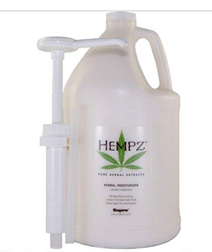 Hempz Moisturizer Lotion Gallon, 128 Ounce