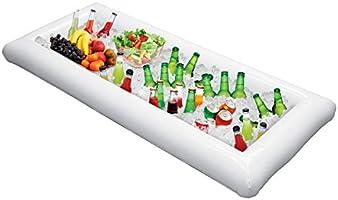 Parkland® - Bandeja hinchable para bebidas de cerveza con tapón de ...