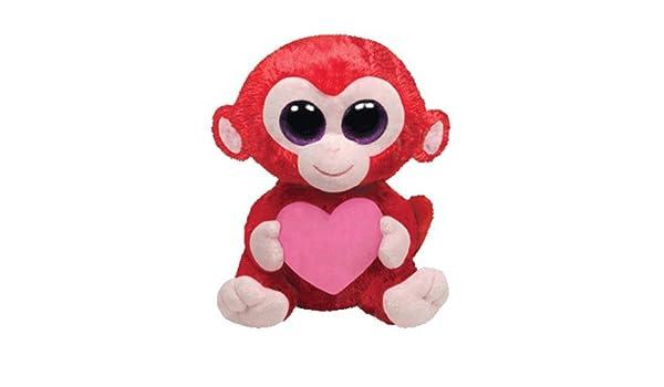 Ty ty36104 - Peluche - Beanie Boo s San Valentín - Charming Le Singe: Amazon.es: Juguetes y juegos