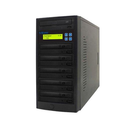 PlexCopier 1 to 5 Blu-ray BD BDXL M-Disc CD DVD Duplicator Copier Tower (5 Target)