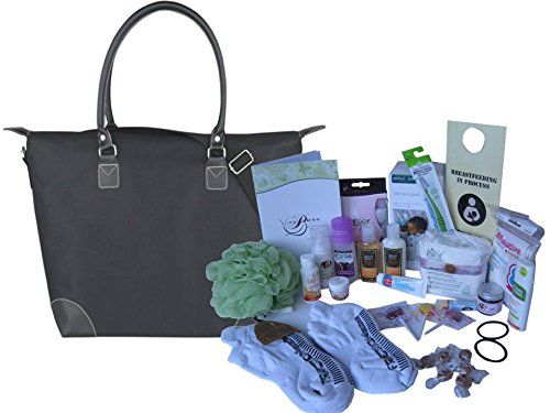 Basic - Prepacked Hospital Labor Bag / New Mom Gift Highest Quality All-Natural Products