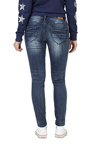 Super blue Timezone Donna Skinny Tight Patriot Trish Blau Jeans Stretch 3624 Wash x8E8Yr
