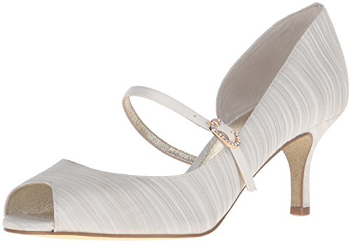Adrianna Papell Mujeres Janet Dress Pump Oyster