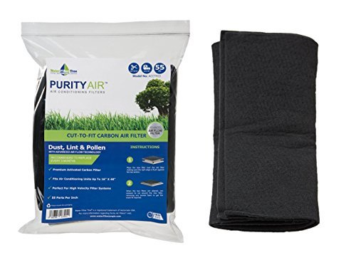 Filter Tree Carbon Cut-to-fit air filter - ACCTF03 Fits to Air Conditioner, Hood Vent, Air Vent by Water Filter Tree