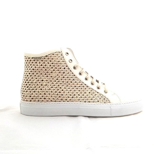 FRAU  40l5, Damen Sneaker elfenbein Burro