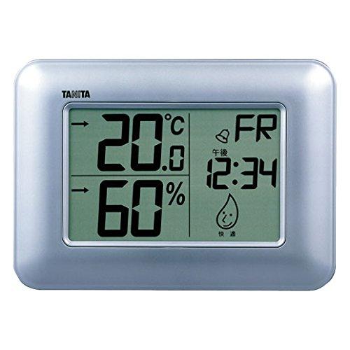 TANITA digital thermo-hygrometer Silver TT-530-SV