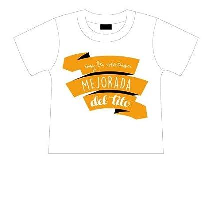 Camiseta manga corta Soy la versión mejorada del tito.