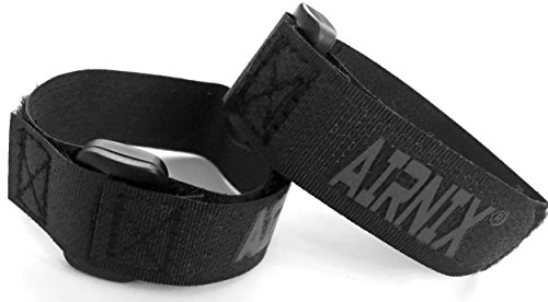 """4pc 8"""" x .75"""" Hook and Loop Cinch Straps, Reusable Fastening, Securing, Cable Straps from AIRNIX"""
