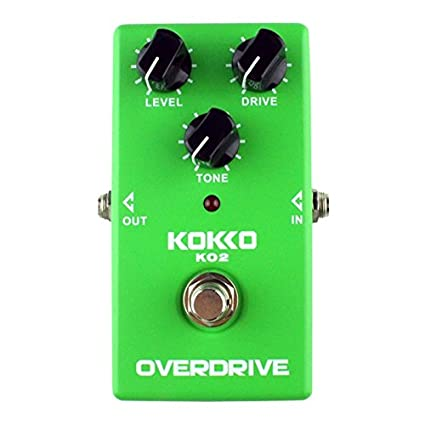 Kokko KO2 alta potencia guitarra eléctrica Pedal de Efectos Sobre procesador verde