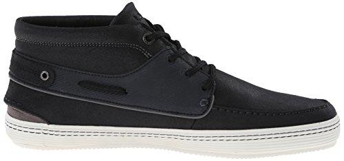 Lacoste Mens Meyssac Deck Fashion Sneaker Black/Grey 0DUQT