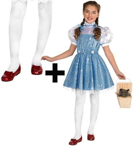 MFD - Disfraz de Dorothy con Lentejuelas y Medias para niñas ...