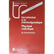 Introduction à la thermodynamique : Physique statistique