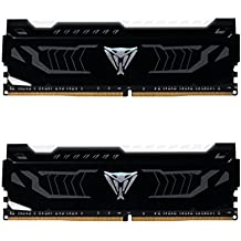 Patriot Viper LED DDR4 3200 MHz (PC4 25600) 16GB (2x8GB) DRAM Kit White