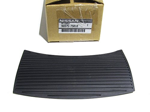 2004-2014 Nissan Titan & Armada Black Center Console Rubber Mat Liner OEM NEW (2004 Nissan Armada Rubber)