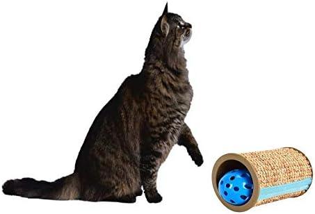 Juguete rascador para gatos, juguete de sisal para arañar, pelotas ...
