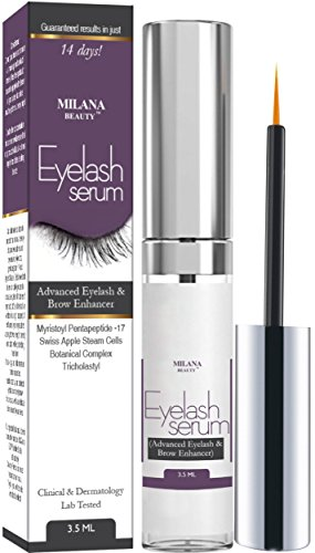 Eyelash Growth Serum & Eyebrow Enhancer - Grows Longer, Fuller, Thicker Lashes & Brows in 30 Day - Enhancing Conditioner Treatment Boosts Regrowth Prevents Thinning Breakage and Fall Out, Made in USA