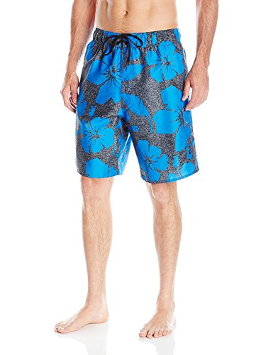 Laguna Men's Hibiscus Dude E-Board, Heather/Turquoise, Large