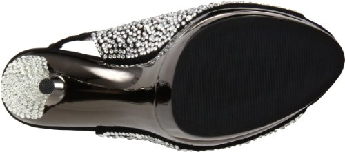 Black Multicolor Mujer Sandalias amp; Day pewter Pleaser Night T4pYYq