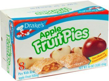 Drakes Apple FruitPies (2 Pack) by Drake's by Drake's