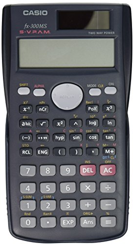 Casio FX-300MS Scientific Calculator, Black